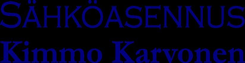 Sähköasennus Kimmo Karvonen